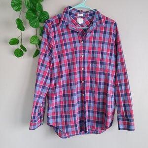 J. Crew women's button down shirt medium